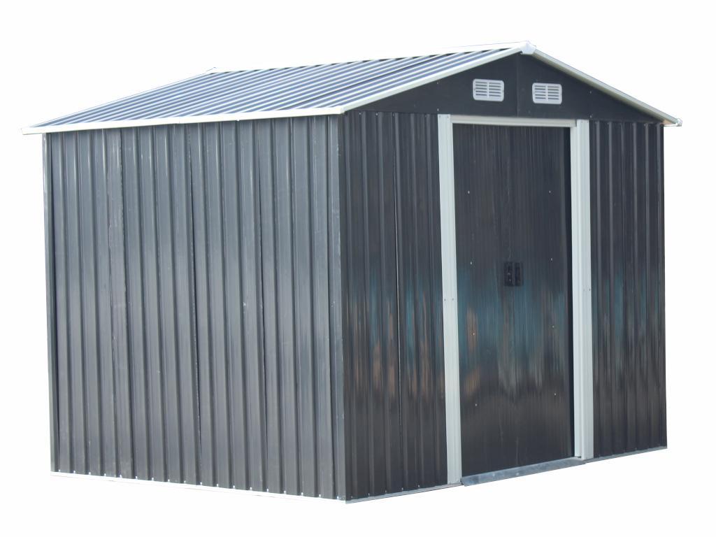 Kauf-unique Gerätehaus Gartenhaus MANSO - Stahl - 5,2 m² 717925