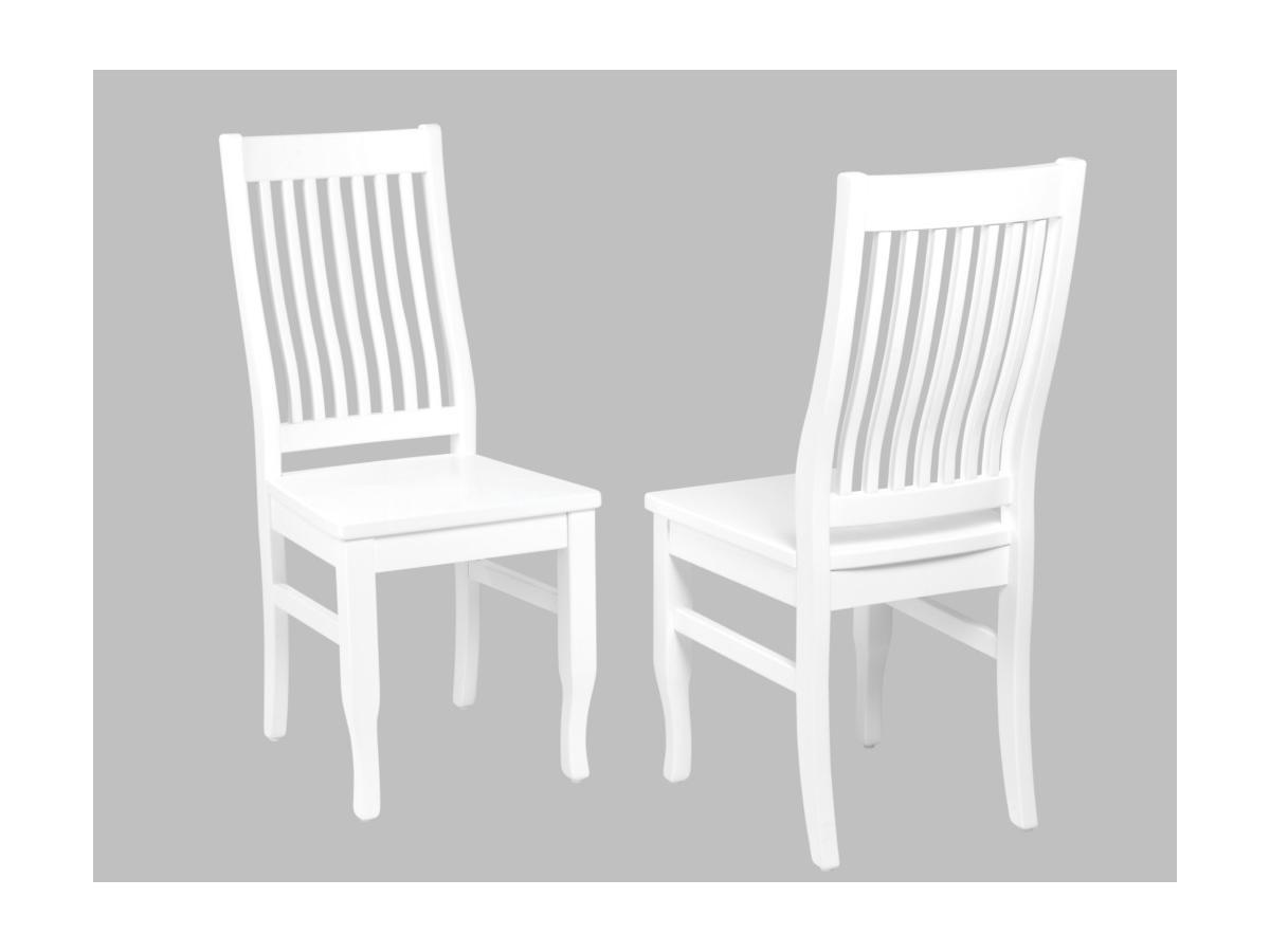 Kauf-Unique Stuhl 2er-Set Massivholz Gerande 60032