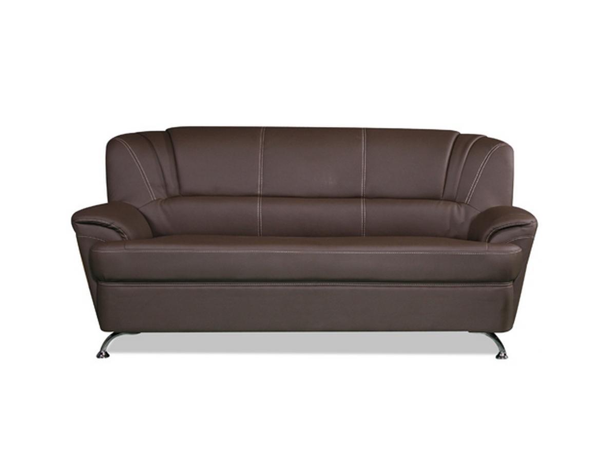 3-Sitzer-Sofa Focus - Braun