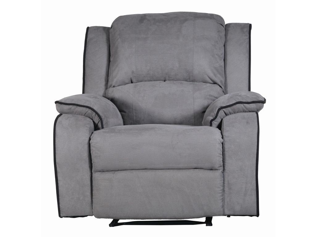 Kauf-Unique Relaxsessel Fernsehsessel HERNANI - Grau 179557