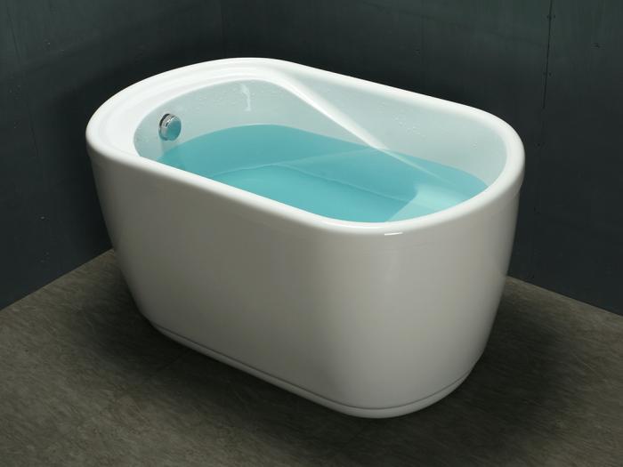 Vasca Da Bagno A Zoccolo Piccola 1 Posto 120 75 H65 Cm