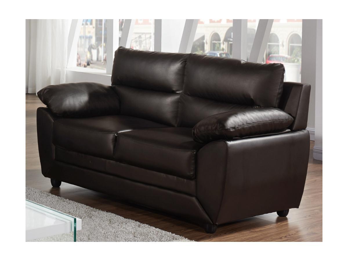 Sofa 2-Sitzer MANOA - Braun