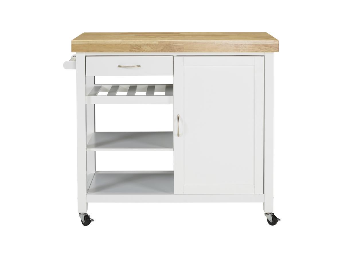 Küchenwagen Servierwagen Holz Skyler