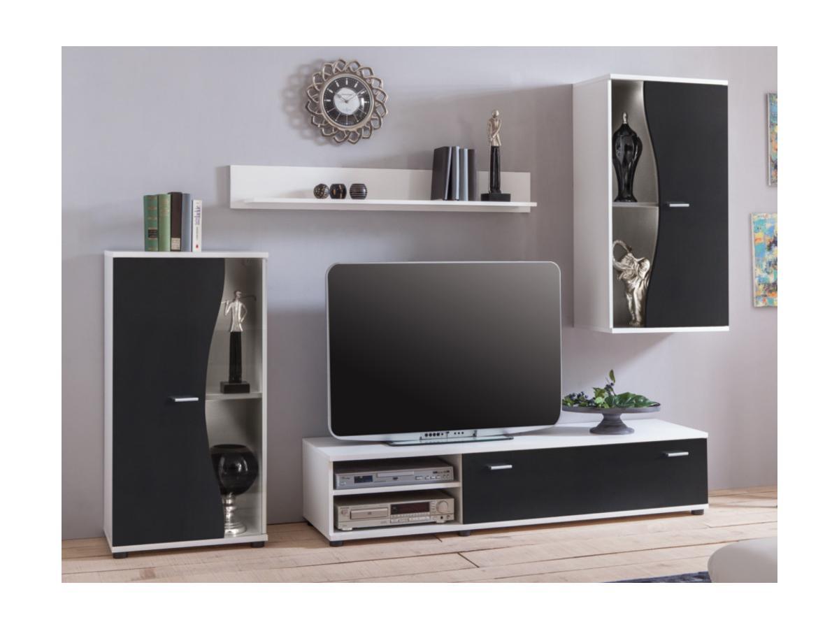 TV-Möbel TV-Wand mit Stauraum GARETT